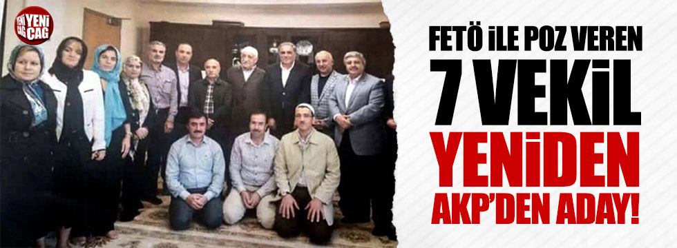 Pensilvanya'yı ziyaret eden 7 AKP'li vekil yeniden aday!