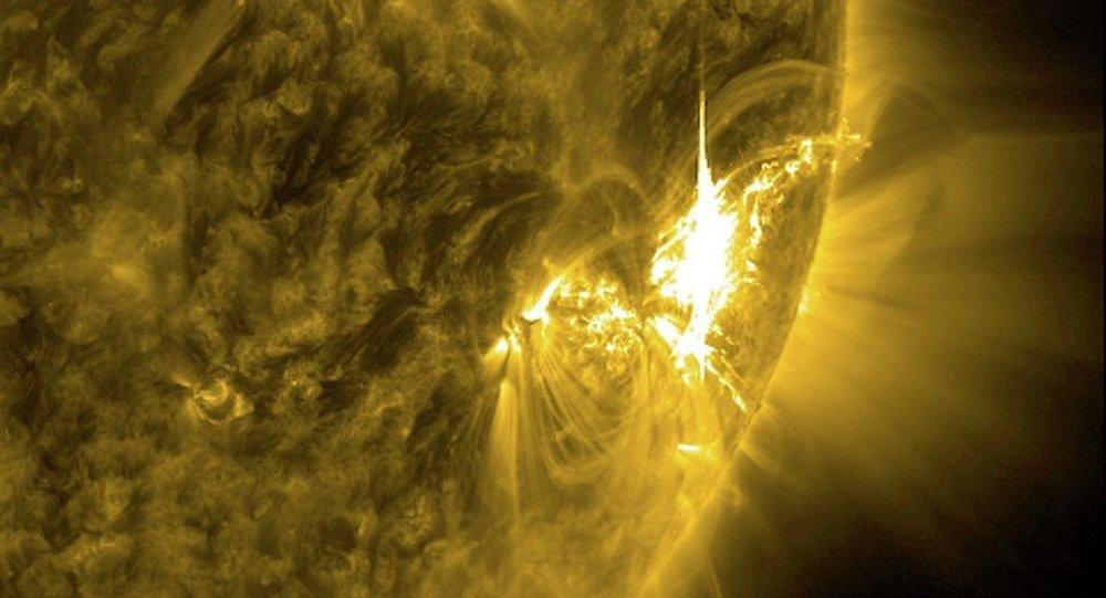 NASA, mavi Güneş görüntüleri yayınladı