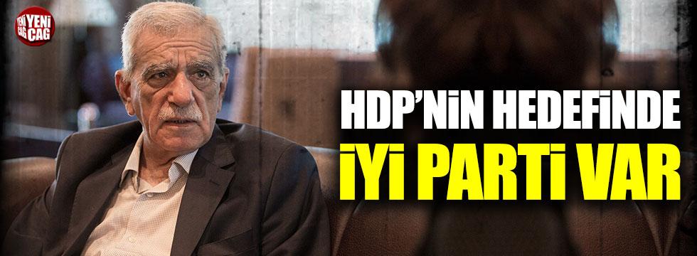 HDP'li Ahmet Türk ve Önder, İYİ Parti'yi hedef aldı!