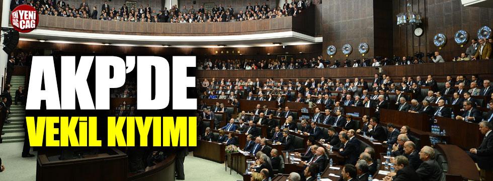 AKP'de vekil kıyımı!