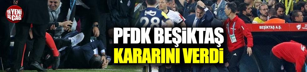 PFDK, Beşiktaş kararını açıkladı