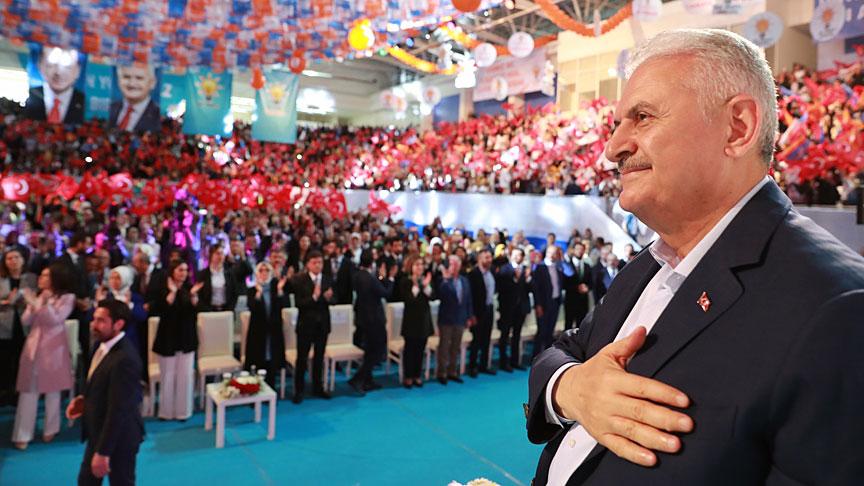 Başbakan Yıldırım, Ankara'da konuştu
