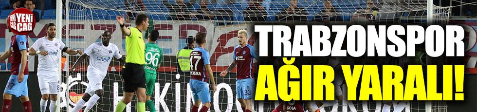 Trabzonspor-Kasımpaşa 2-5 (Maç Özeti)