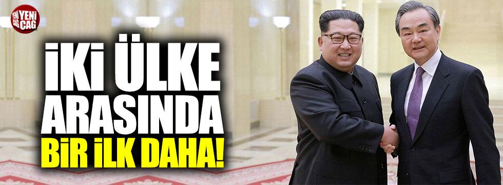 Kuzey Kore-Güney Kore arasında bir ilk daha