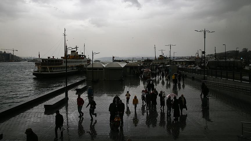 İstanbul için kuvvetli yağış uyarısı…