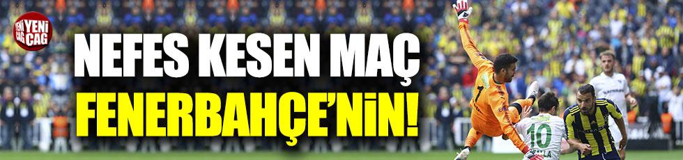 Fenerbahçe 2-1 Bursaspor / Maç özeti
