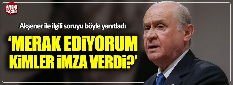 """Bahçeli'den """"FETÖ'nün seçmen ayağı"""" iddiası"""