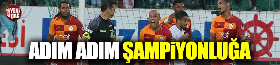 Akhisarspor 1-2 Galatasaray / Maç özeti