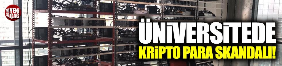 Üniversitede kripto para