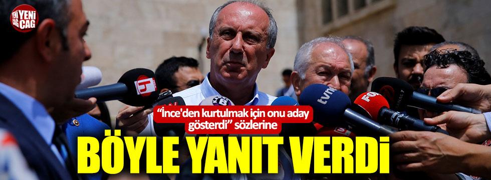 """Muharrem İnce: """"Benden değil, Erdoğan'dan kurtulmak için aday gösterdi"""""""