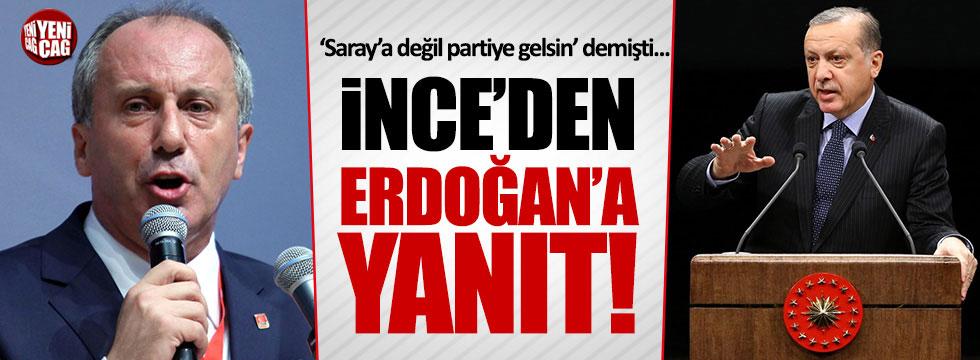 """Muharrem İnce'den Erdoğan'a: """"Simitçiye çağırsa, oraya da giderim"""""""