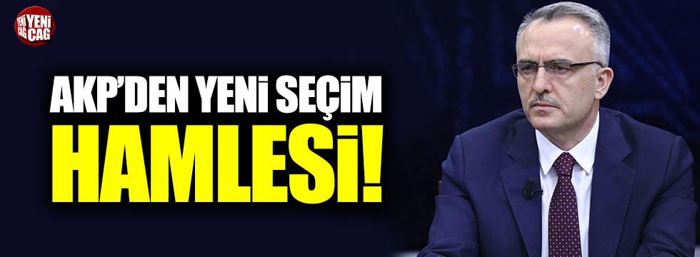 AKP'den yeni seçim hamlesi