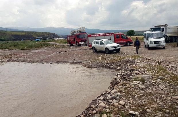 Şırnak'ta 2 çocuk sele kapıldı