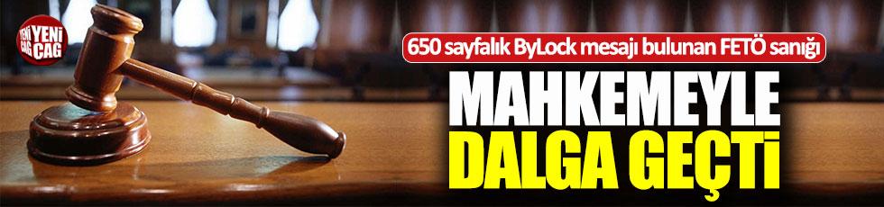 650 sayfalık ByLock mesajını inkar etti