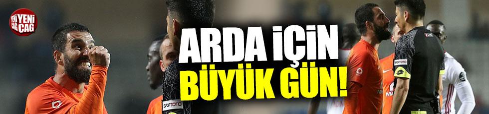 Arda Turan için büyük gün!