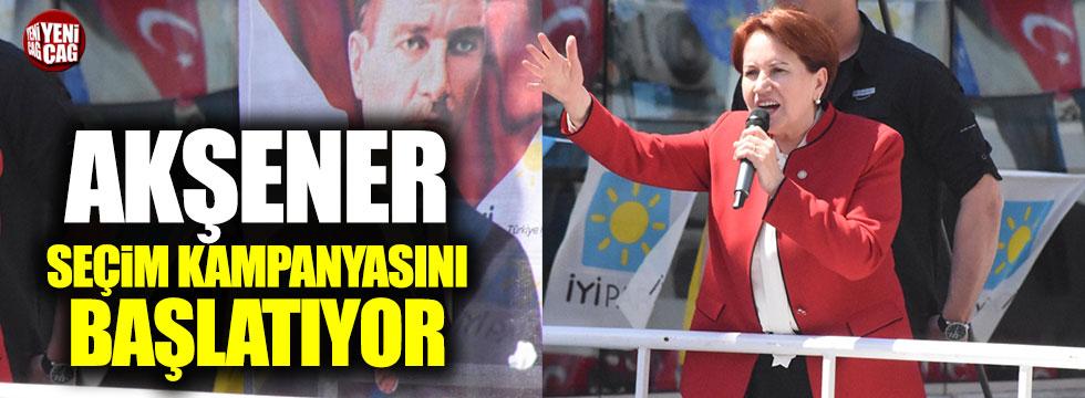Meral Akşener seçim kampanyasını Ankara'dan başlatıyor