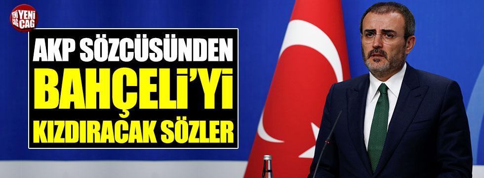 AKP Sözcüsü Ünal'dan Bahçeli'yi kızdıracak sözler