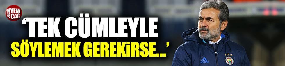 Aykut Kocaman'dan maç sonrası açıklama