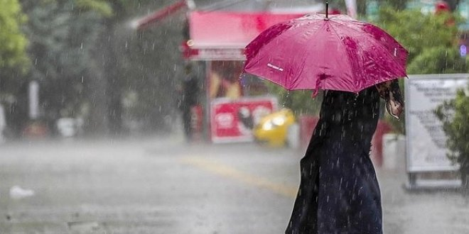 Meteorolojiden 'kuvvetli sağanak' uyarısı