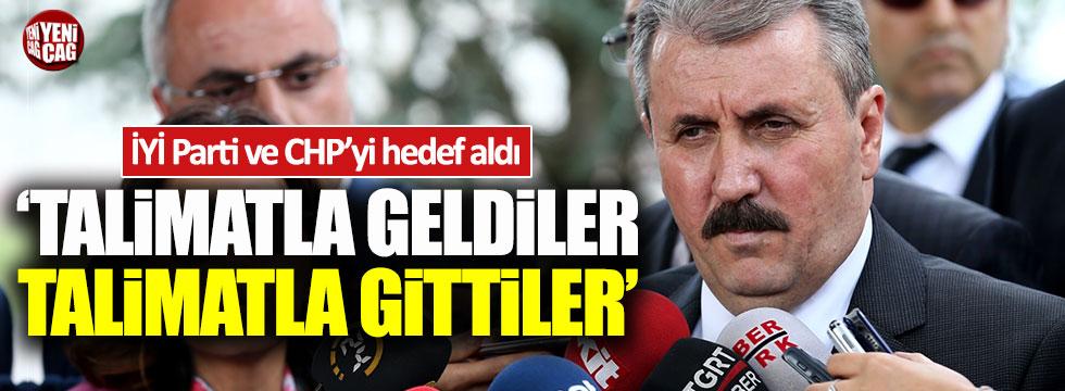 BBP lideri Destici, CHP ve İYİ Parti'yi hedef aldı