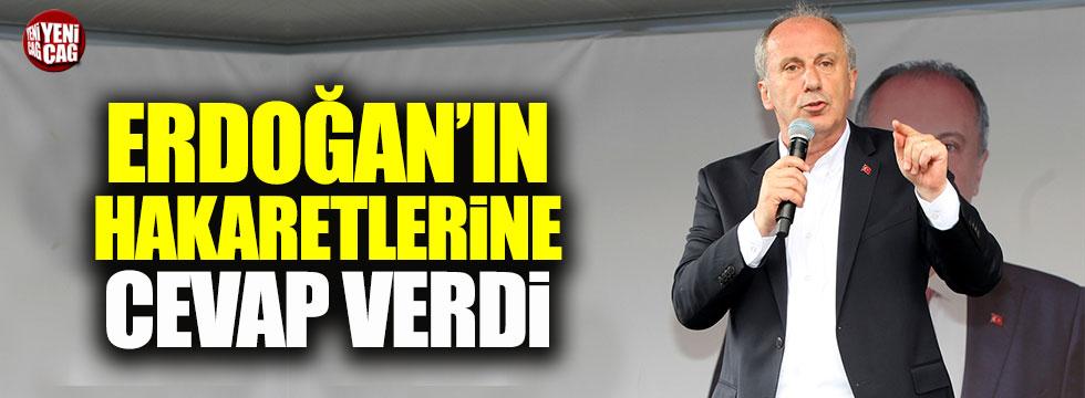 Muharrem İnce'den Erdoğan'a cevap