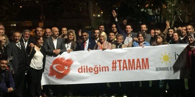 İYİ Parti'den dileğimiz 'TAMAM' etkinliği
