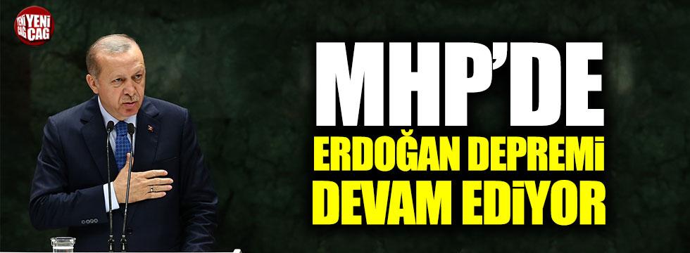 MHP'de Erdoğan depremi devam ediyor!