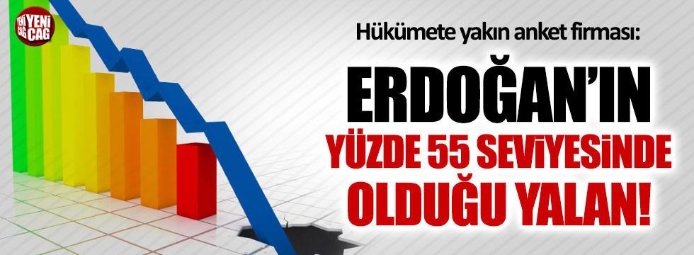 Anket şirketi ANAR'dan 'Erdoğan'ın oy oranı yüzde 55'' haberine yalanlama