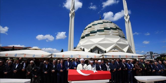 Mehmed Niyazi Özdemir son yolculuğuna uğurlandı