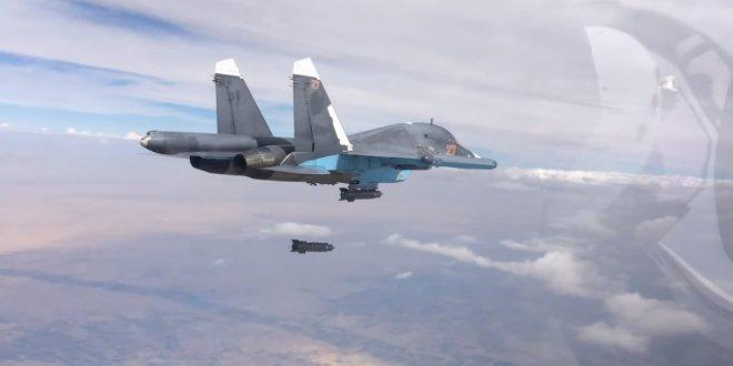 ABD ve Rus jetleri, Akdeniz'in doğusunda burun buruna