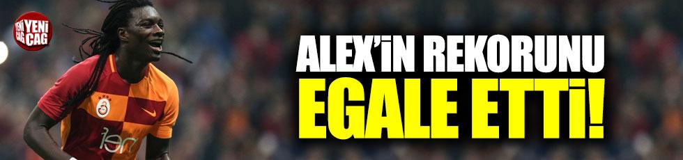 Gomis, Alex'in rekorunu egale etti