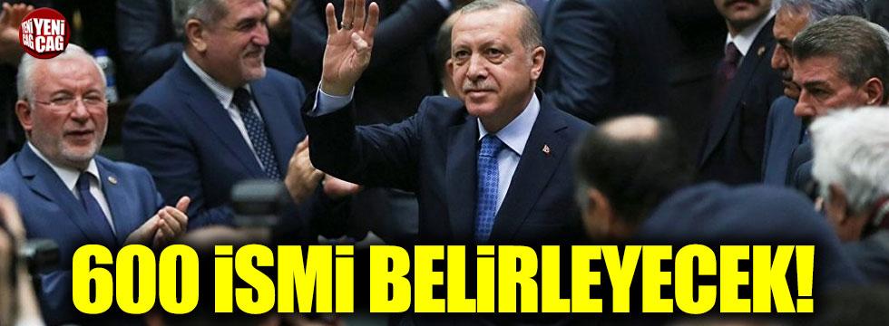 AKP'de mülakatlar tamamlandı, 600 ismi Erdoğan belirleyecek