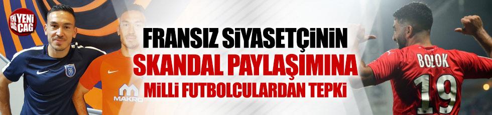Fransa'da ırkçı mesaja Türk futbolculardan tepki