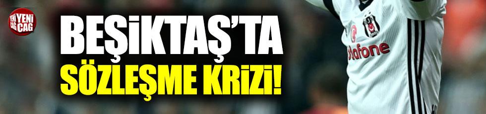 Beşiktaş'ta sözleşme krizi: Rest çekti