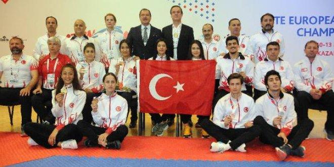 Kadın Tekvando Milli Takımı Avrupa Şampiyonu