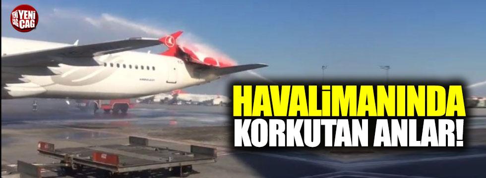 Atatürk Havalimanı'nda büyük tehlike atlatıldı