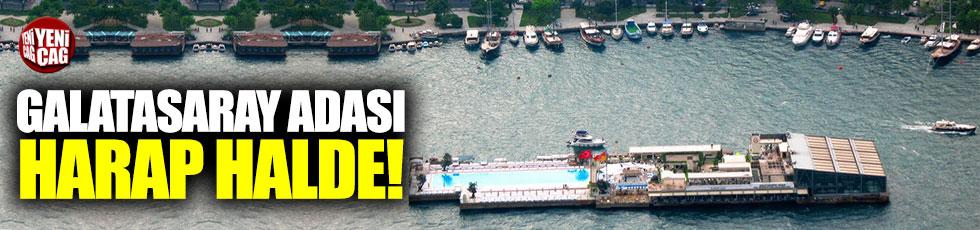 Galatasaray Adası harap halde!