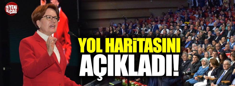 Akşener seçim manifestosunu açıkladı