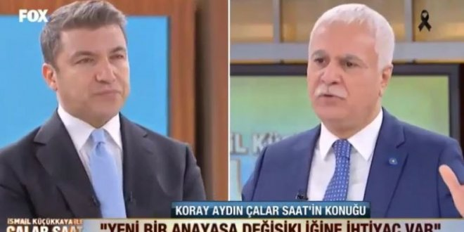 """Koray Aydın, """"Erdoğan Akşener'e kaybedeceğinden emin"""""""