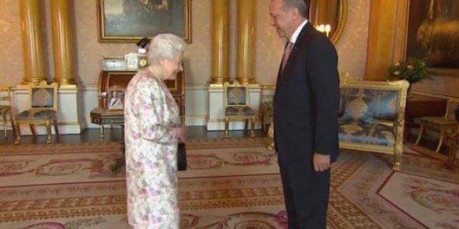 Erdoğan, Kraliçe Elizabeth ile görüştü
