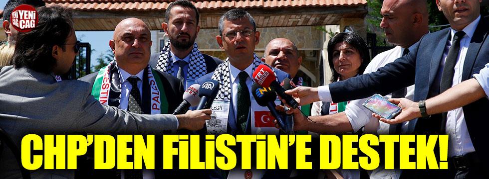 CHP'den Filistin'e destek!
