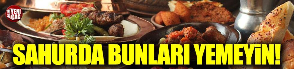 Uzmanlardan Ramazan uyarısı