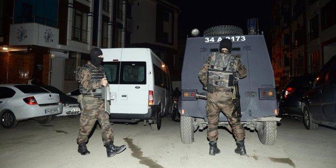 Terör operasyonunda 7 gözaltı