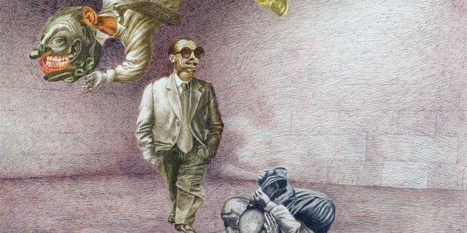"""Ressam Cemal Erez'den  """"Yedi Günah"""" ve """"Bir Bürokratın 24 Saati"""" Sergisi"""