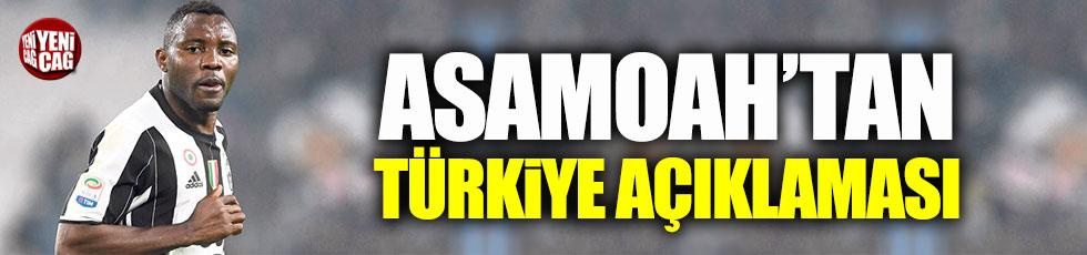 Asamoah'tan Türkiye açıklaması