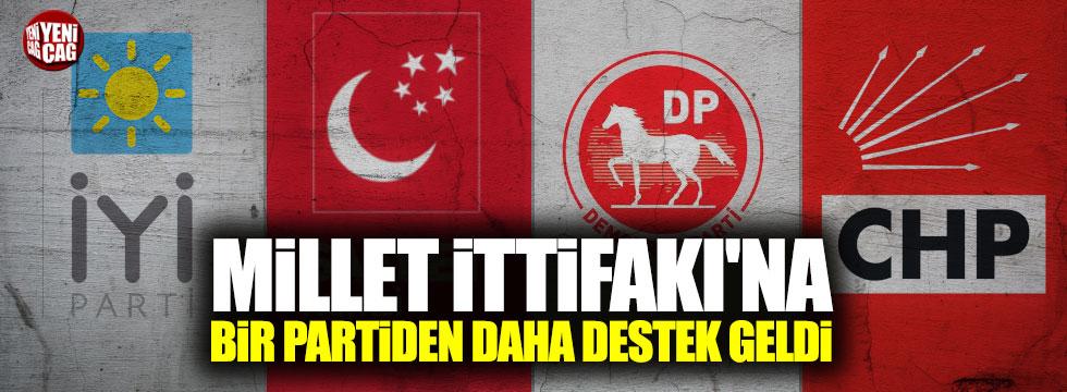 DSP'den Millet İttifakı'na destek