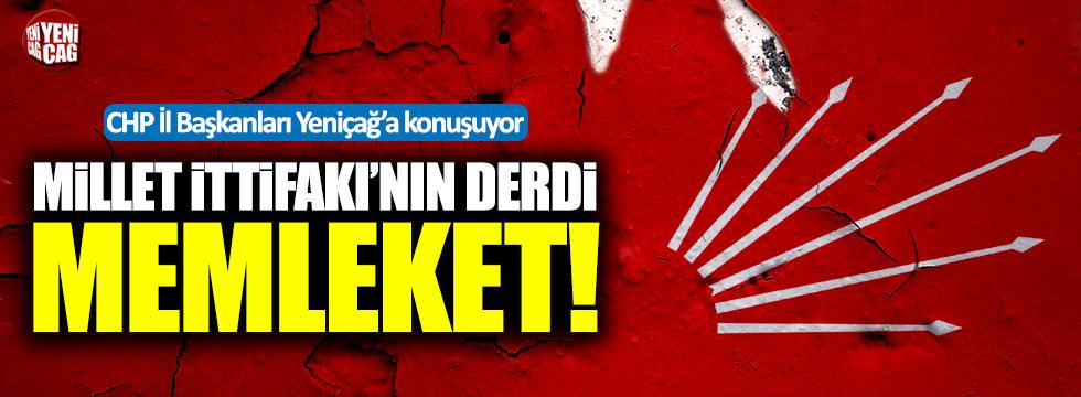 CHP İl Başkanları Yeniçağ'a konuşuyor: Ankara, Konya, Eskişehir
