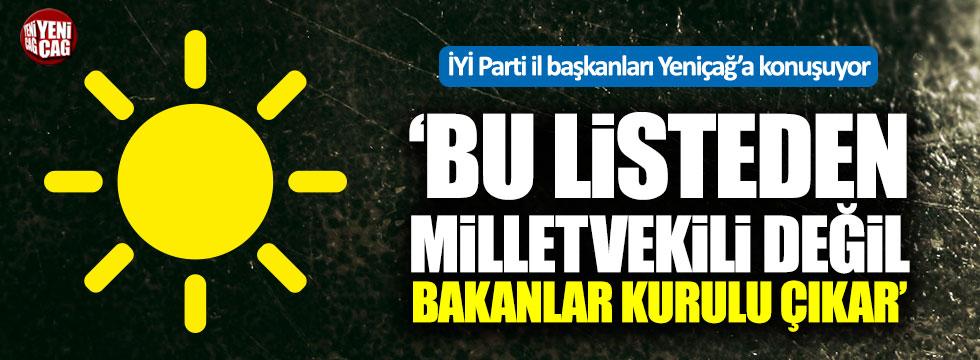İYİ Parti İl Başkanları Yeniçağ'a konuşuyor: Kocaeli, Çanakkale ve Edirne...