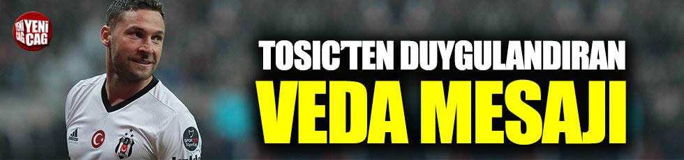 Tosic'ten Beşiktaşlıları duygulandıran veda mesajı