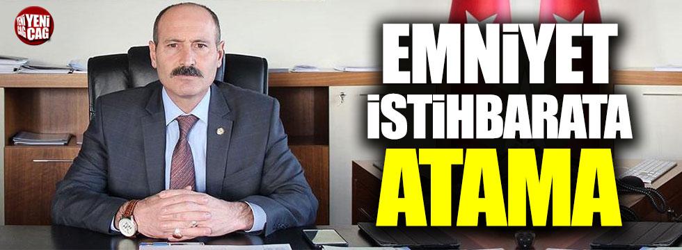 Emniyet İstihbaratı'nın yeni müdürü Sabit Akın Zaimoğlu oldu